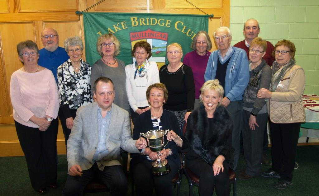 All the prize winners in the Annie Hanlon trophy competition