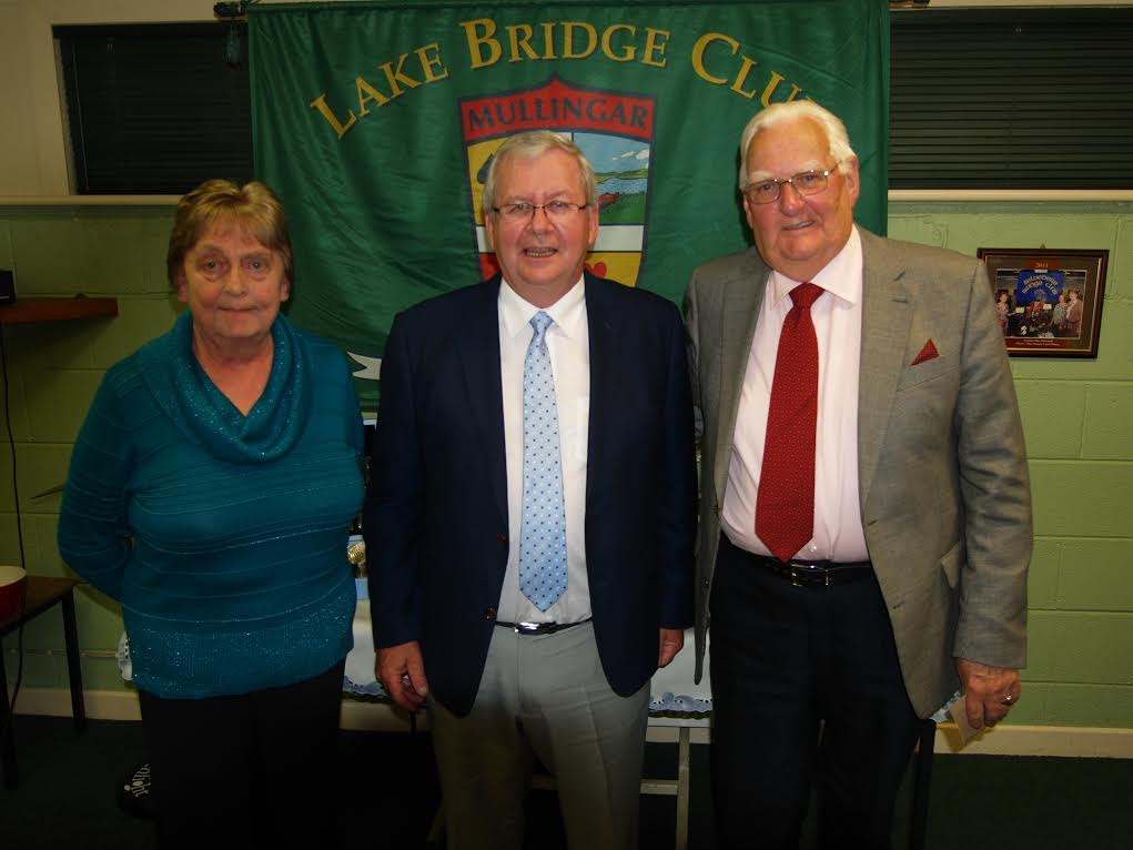 !st Gross Winners - Maura Hogan and Jim Hearn