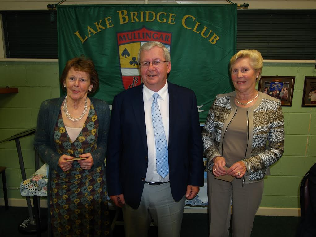 3rd Nett Winners - Eileen Leavy and Kay Kirley
