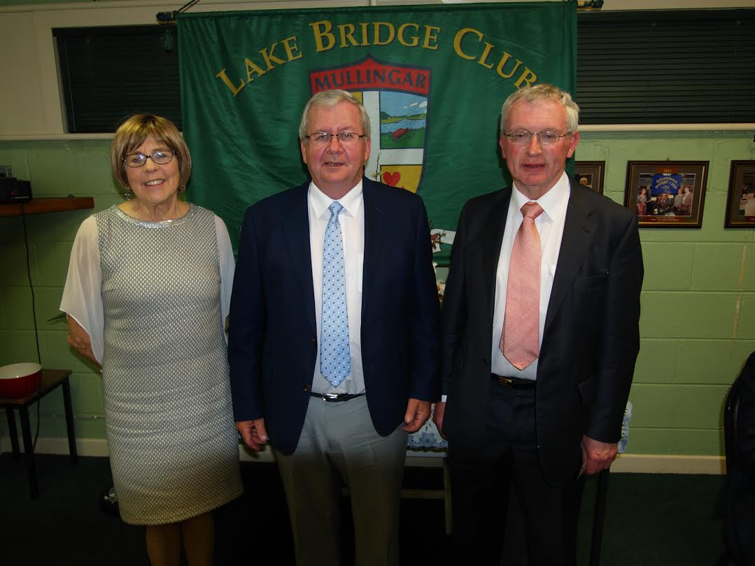 3rd Gross Winners - Terese Colleary and Frank Higgins