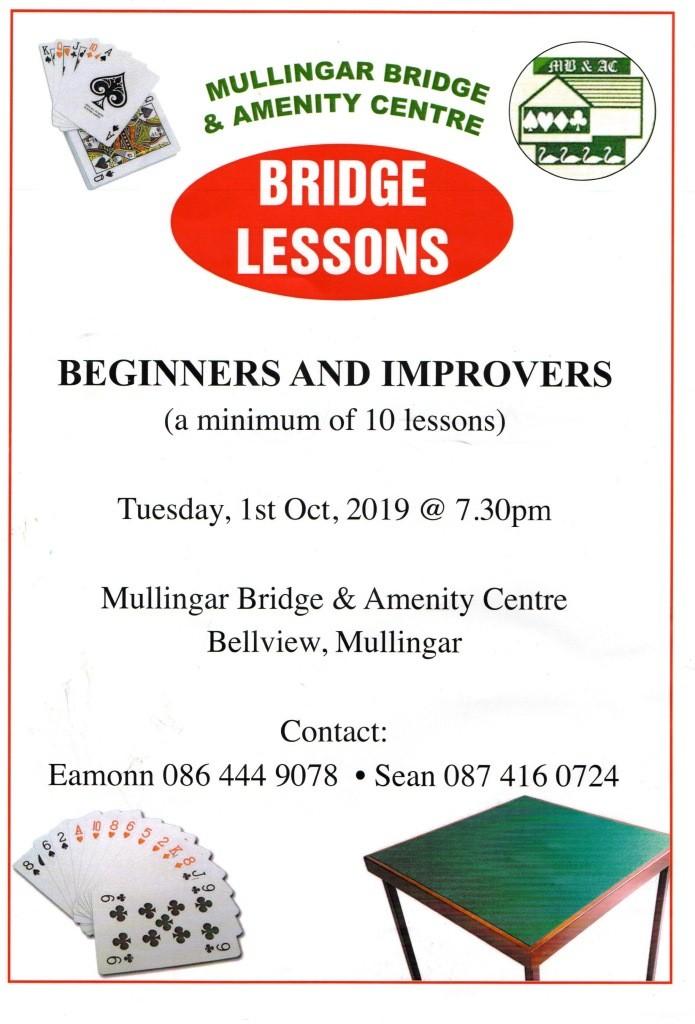 Bridge lessons2019