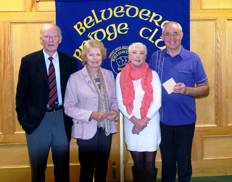 1st  Gross winners in the Credit Union Pairs Competition